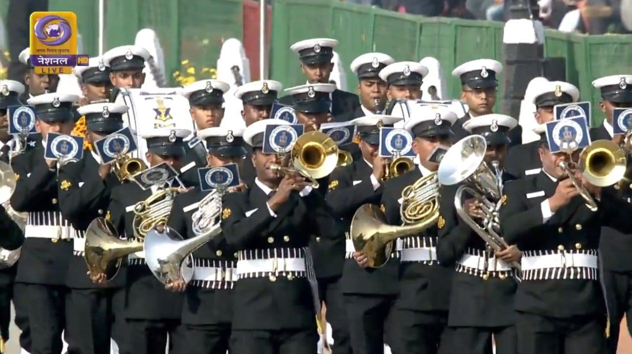రాజ్పథ్ వద్ద గణతంత్ర దినోత్సవ వేడుకలు (Image: DD News)