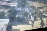 Video: క్రూడ్ బాంబ్తో న్యాయవాదిపై దాడి... కోర్టు ప్రాంగణంలోనే...