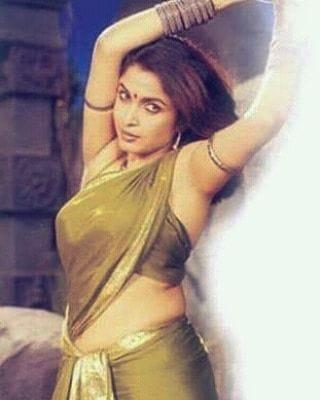 1985లో 'భలే మిత్రులు' చిత్రంతో తెరంగేట్రం చేసిన రమ్యకృష్ణ. (Twitter/Photo)