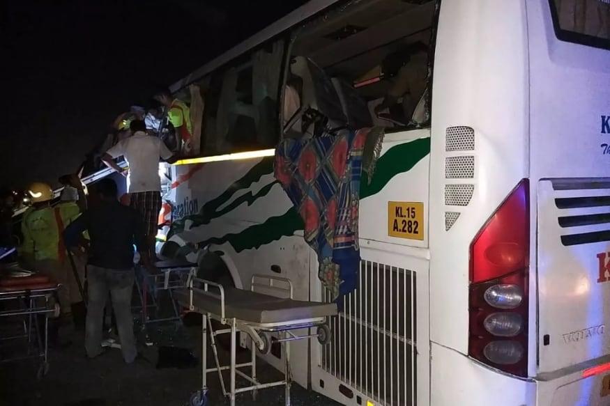Tamil Nadu Road Accident : తమిళనాడులో KSRTC వోల్బో బస్సు, లారీ ఢీకొన్న ప్రమాదంలో 10 మంది చనిపోగా... చాలా మంది గాయాలపాలయ్యారు.