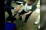 Video : భార్యను చితక బాదిన పోలీస్... జుట్టు పట్టుకొని...