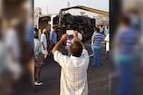 Video : విజయవాడకు వెళ్తూ ట్రావెల్స్ బస్సు బోల్తా...