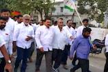 Video: మూడు రాజధానులకు మద్దతుగా...ఎమ్మెల్యే జగన్మోహనరావు పాదయాత్ర...