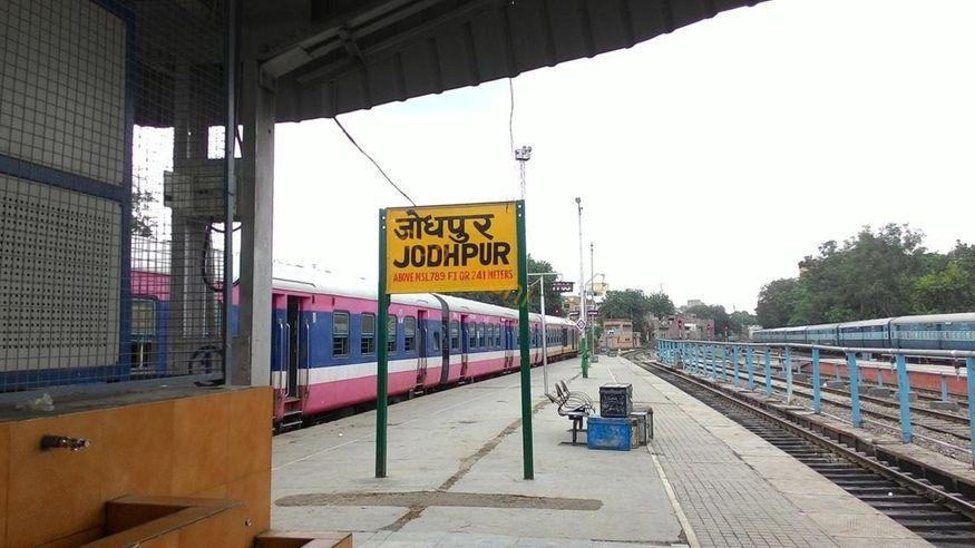 Rank 2: జోధ్పూర్ జంక్షన్ రైల్వే స్టేషన్, నార్త్ వెస్టర్న్ రైల్వే జోన్, రాజస్తాన్. (Image: indiarailinfo.com)