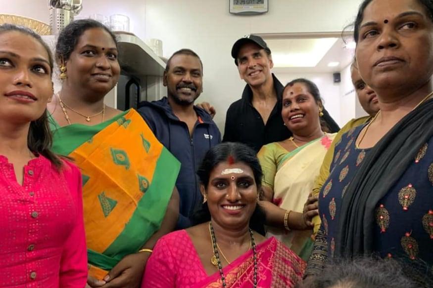 Akshay Kumar, raghava lawrence, lawrence charitable trust, lakshmi bomb, transgenders, house for transgenders, లక్ష్మీ బాంబు, ట్రాన్స్జెండర్స్, అక్షయ్ కుమార్, చెన్నై, రాఘవ లారెన్స్