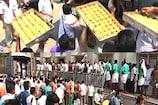 Video: కరోనా ఎఫెక్ట్... తిరుమల శ్రీవారి లడ్డూలు ఫ్రీ...ఫ్రీ...ఫ్రీ