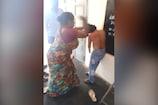 Video: కూతురికి వేధింపులు... ఉతికి ఆరేసిన తల్లి