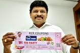 KCR Coupons ప్రారంభించిన ఎంపీ సంతోష్ కుమార్