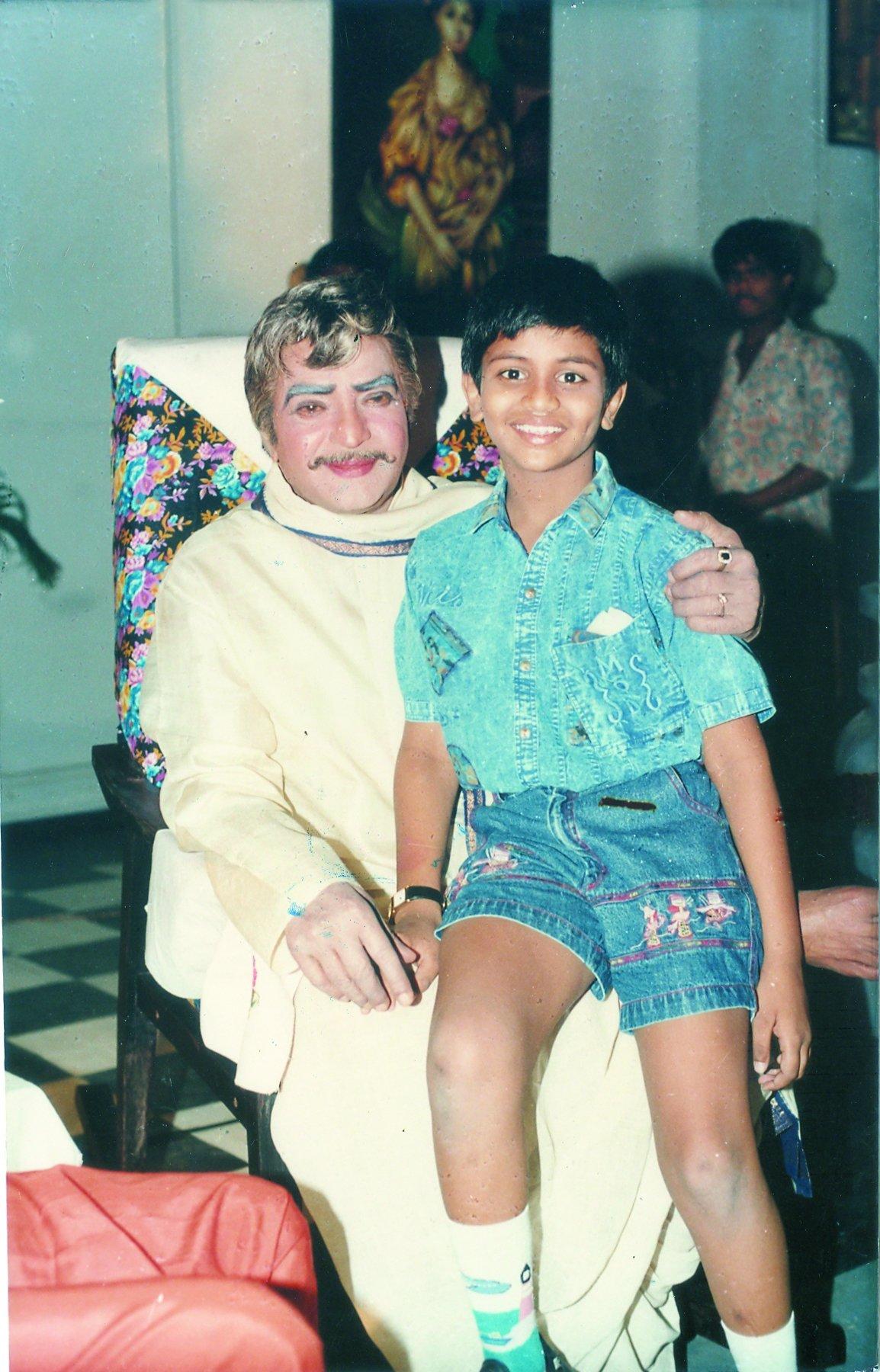 మేజర్ చంద్రకాంత్ సినిమాలో మంచు మనోజ్ బాల నటుడిగా నటించారు. (Twitter/Photo)