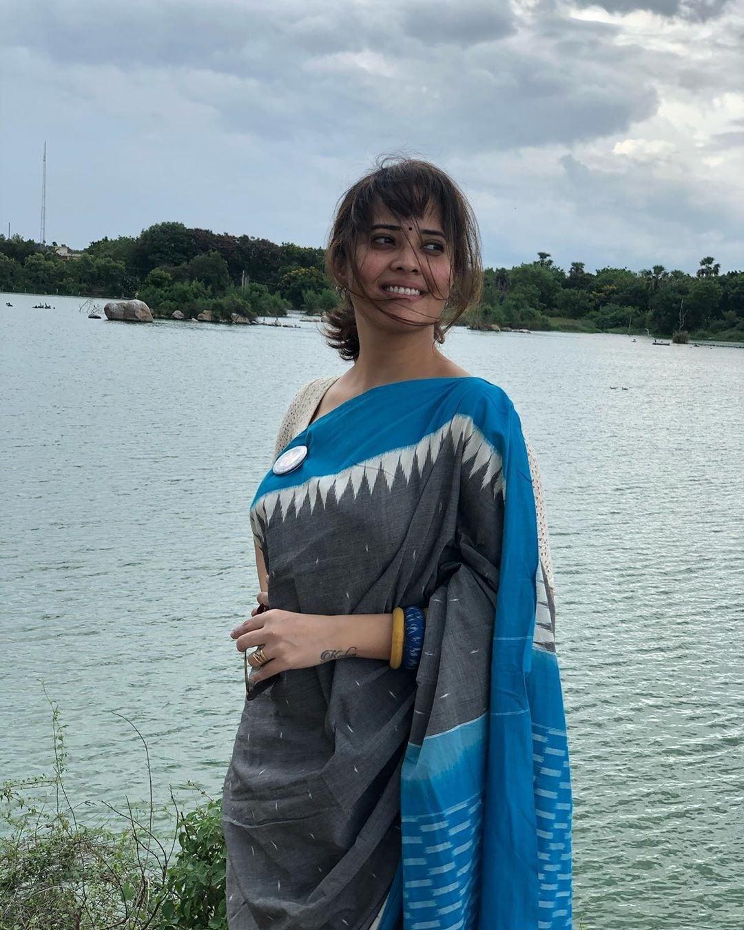 వెరైటీ లుక్స్తో అదరగొడుతున్న అనసూయ భరద్వాజ్ (Instagram/Photo)