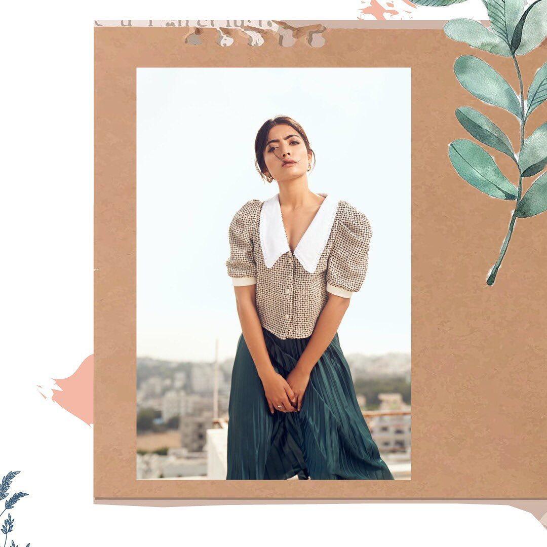 రష్మిక మందన్న లేెటస్ట్ ఫోటో షూట్ (Instagram/Photo)