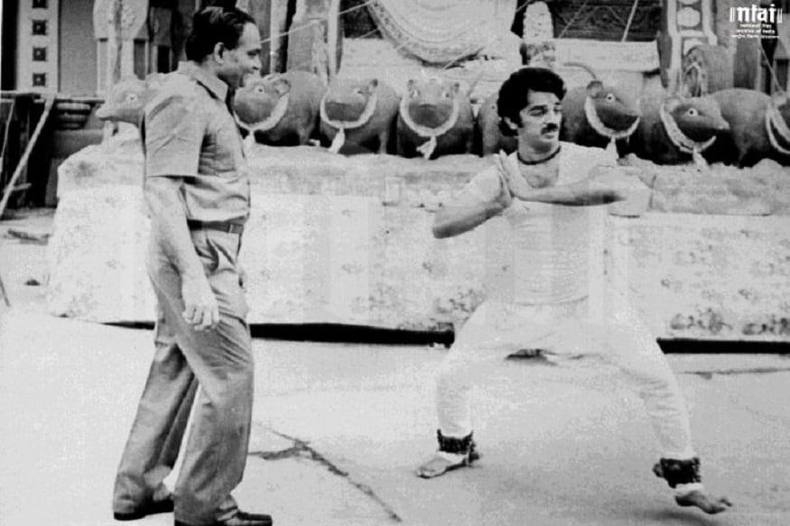 కే.విశ్వనాథ్, కమల్ హాసన్ కాంబినేషన్లో వచ్చిన మొదటి చిత్రం 'సాగర సంగమం'. (Twitter/Photo)