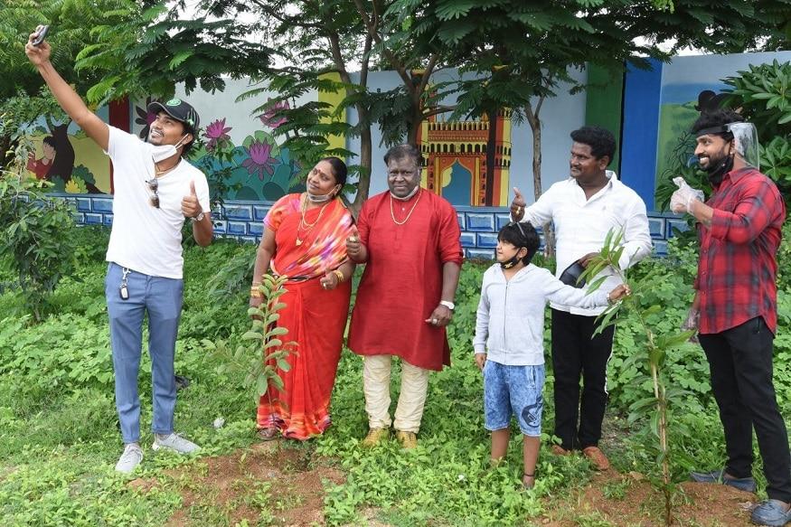 జబర్దస్త్ కమెడియన్స్ గ్రీన్ ఇండియా ఛాలెంజ్ (Twitter/Photo)