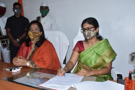అదిలాబాద్ కలెక్టర్గా సిక్తా పట్నాయక్ బాధ్యతల స్వీకరణ