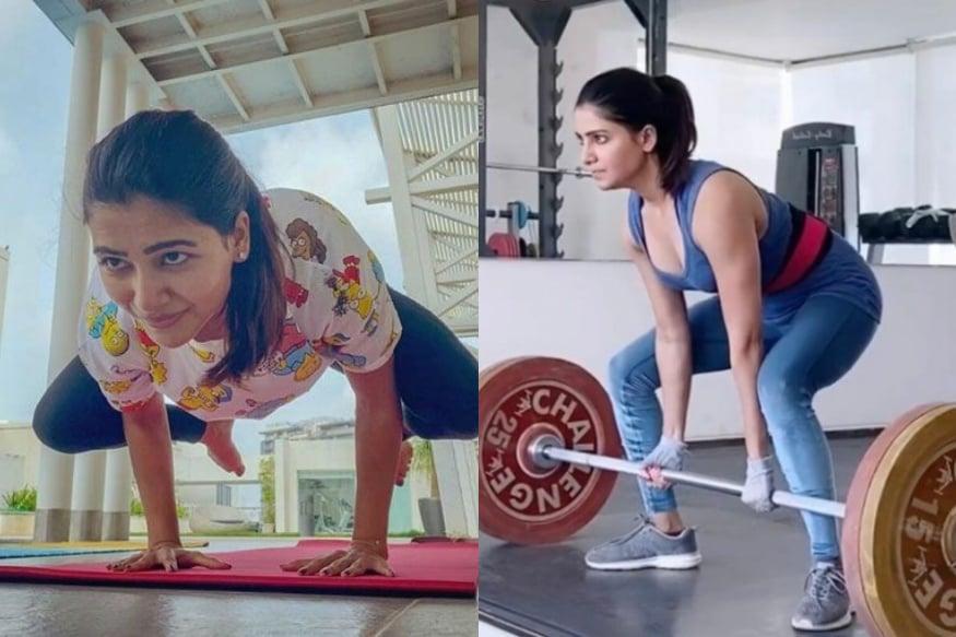 సమంత అక్కినేని జిమ్ వర్కవుట్ (samantha akkineni workout)
