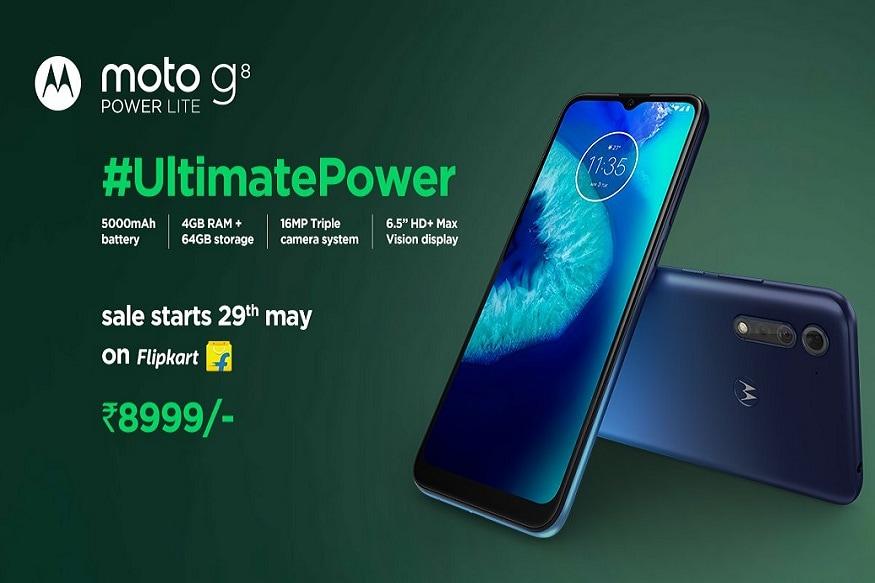12. Motorola G8 Power Lite: మోటోరోలా జీ8 పవర్ లైట్ బ్యాటరీ 5,000ఎంఏహెచ్. ఈ ఫోన్ ఆర్కిటిక్ బ్లూ, రాయల్ బ్లూ కలర్స్లో లభిస్తుంది. 4జీబీ+64జీబీ వేరియంట్ ధర రూ.8,999.