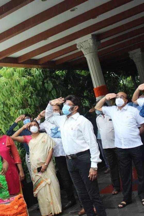 బసవ తారకం క్యాన్సర్ హాస్పిటల్లో స్వాతంత్య్ర దినోత్సవ వేడుకలు (Facebook/Photo)