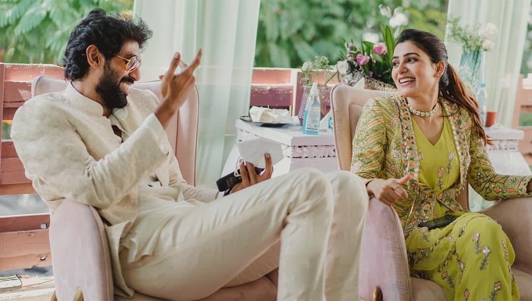 మెహందీ వేడుకలో రానాతో సమంత అక్కినేని (Instagram/Photo)