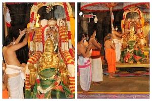 Garuda Seva | తిరుమల శ్రీవారి ఆలయంలో శ్రావణ పౌర్ణమి గరుడసేవ