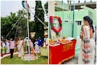 Roja Selvamani: జాతీయ జెండా ఎగురవేసిన వైసీపీ ఎమ్మెల్యే రోజా