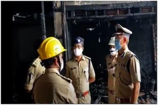 Vijayawada Fire Accident: అగ్ని ప్రమాద ఘటనా స్థలిని సందర్శించిన డీజీపీ