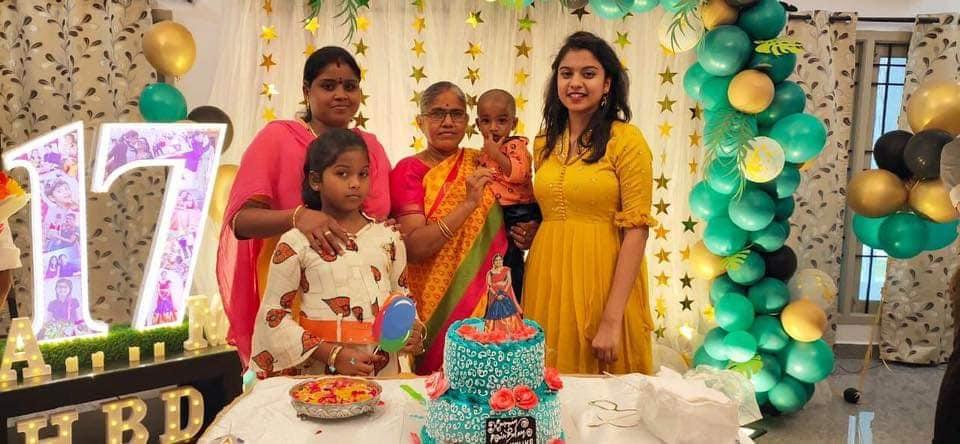 ఎంతో అట్టహాసంగా రోజా కూతురు అన్షు మాలిక పుట్టినరోజు వేడుకలు (Facebook/Photo)c