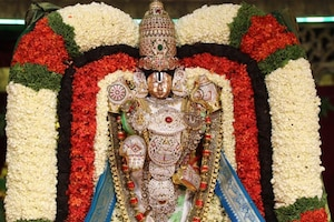 Tirumala Brahmotsavam: తిరుమలలో గజవాహనంపై శ్రీవారు
