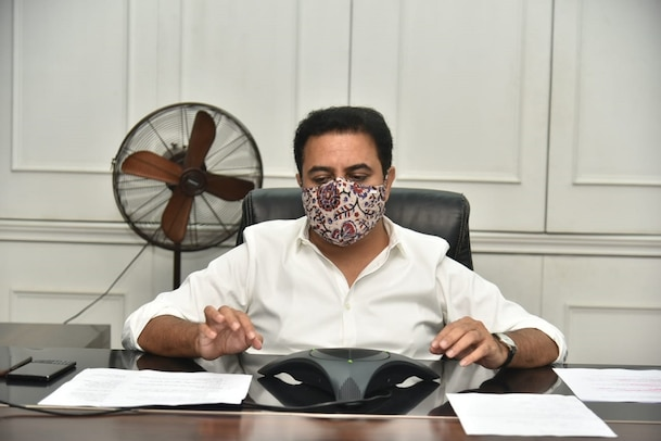 Telangana: అనుకున్న విధంగానే గ్రేటర్ ఎన్నికలు.. పార్టీ నేతలతో కేటీఆర్