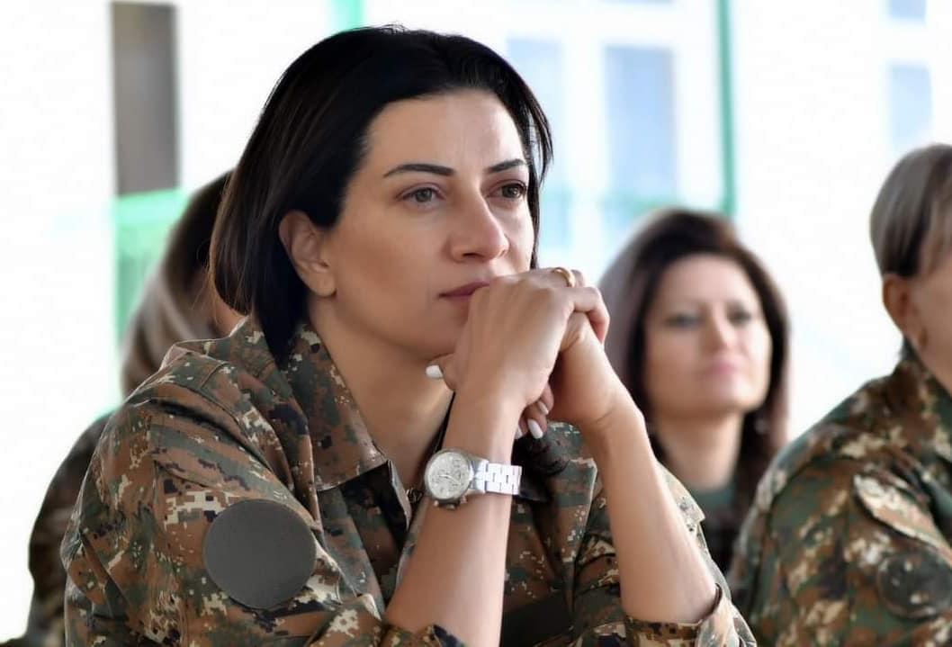 Armenia PM Nikol Pashinyan, Anna Hakobyan, Anna Hakobyan Joins military training, Armenia-Azerbaijan Conflict, Nagorno-Karabakh, ఆర్మేని ప్రధాని నికోల్ పషిన్యన్, అన్నా హకోబ్యాన్, మిలటరీ ట్రైనింగ్లో చేరిన అన్నా హకోబ్యాన్, ఆర్మేనియా-అజర్బైజాన్ పోరు, నాగోర్నో-కరాబాఖ్