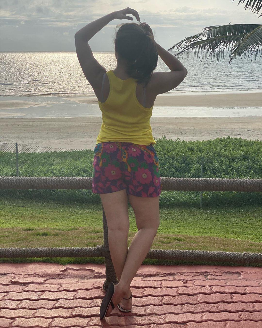 గోవా బీచుల్లో అనసూయ Photo : Instagram