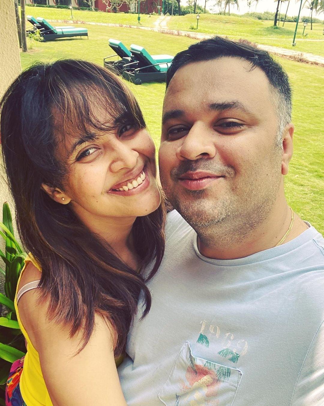 భర్త తో కలిసి గోవాలో అనసూయ Photo : Instagram