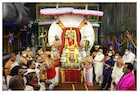 Tirumala Brahmostsavam: శ్రీవారి నవరాత్రి బ్రహ్మోత్సవాలు.. సూర్యప్రభ వాహనంపై ఊరేగిన స