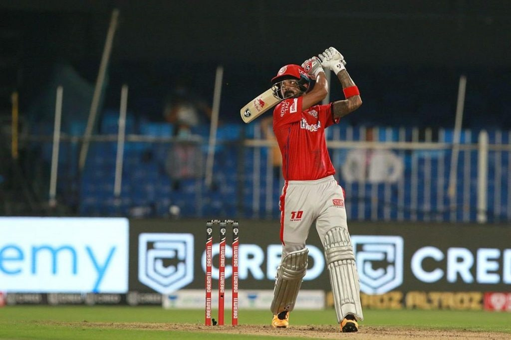 Rank: 1 | Player: KL Rahul | Team: Kings XI Punjab | Matches: 7 | Runs: 387 | Strike Rate: 158.96 (Image: IPLT20.com)