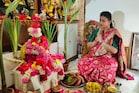 Roja Selvamani: రోజా ఇంట్లో దసరా పూజ, అందంగా డెకరేషన్, పసందైన వంటకాలు