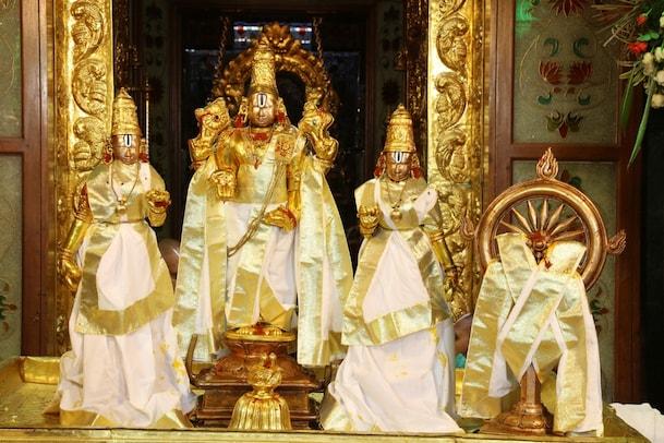 TTD Brahmotsavam: చక్రస్నానంతో ముగిసిన శ్రీవారి నవరాత్రి బ్రహ్మోత్సవాలు... దృశ్యాలు