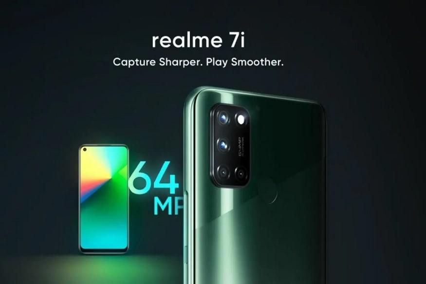 Realme 7i: రియల్మీ 7ఐ స్మార్ట్ఫోన్ 4జీబీ+64జీబీ వేరియంట్ అసలు ధర రూ.11,999 కాగా ఆఫర్ ధర రూ.10,799.