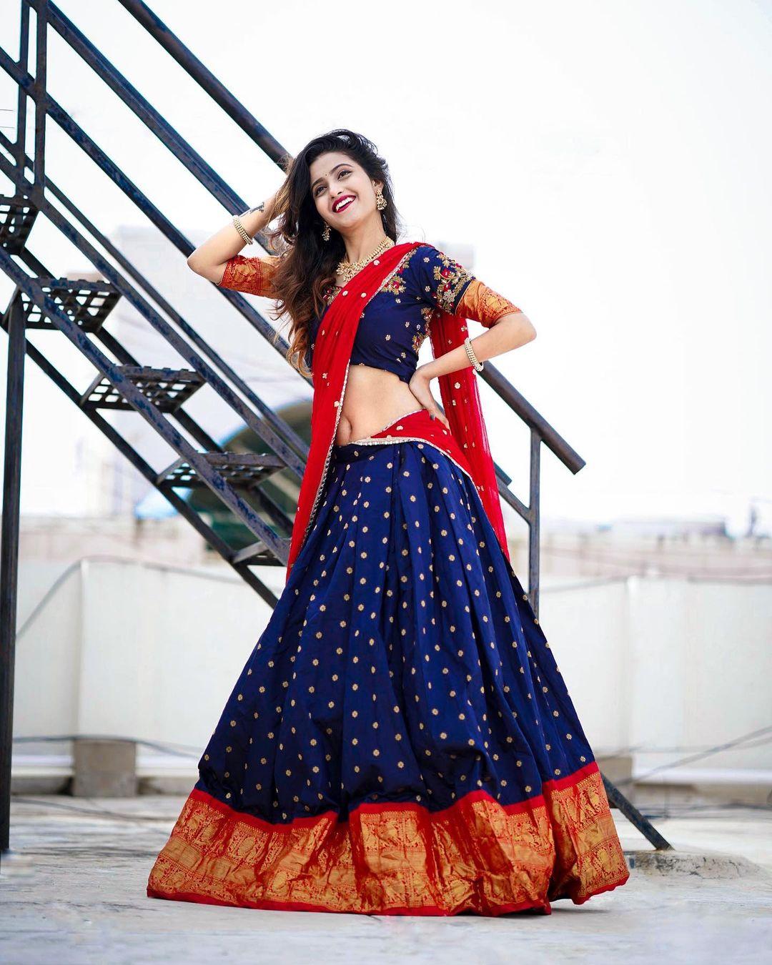 Deepika Pilli : సోషల్ మీడియా స్టార్ దీపికా పిల్లి బ్యూటీఫుల్ పిక్స్.. Photo : Instagram