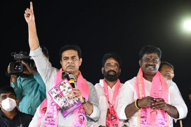 GHMC Elections: బీజేపీ చార్జ్షీట్పై భగ్గుమన్న కేటీఆర్, కమలానికి 50 ప్రశ్నలు