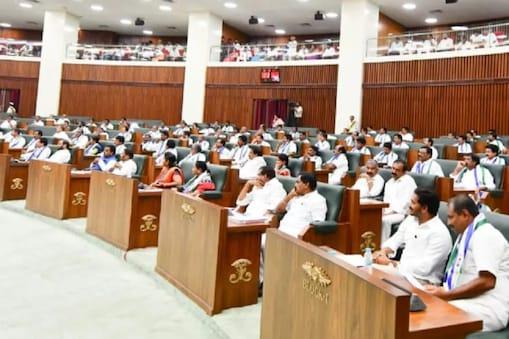 AP Assembly: అదే సీన్.. అసెంబ్లీ నుంచి టీడీపీ సభ్యుల సస్పెన్షన్..