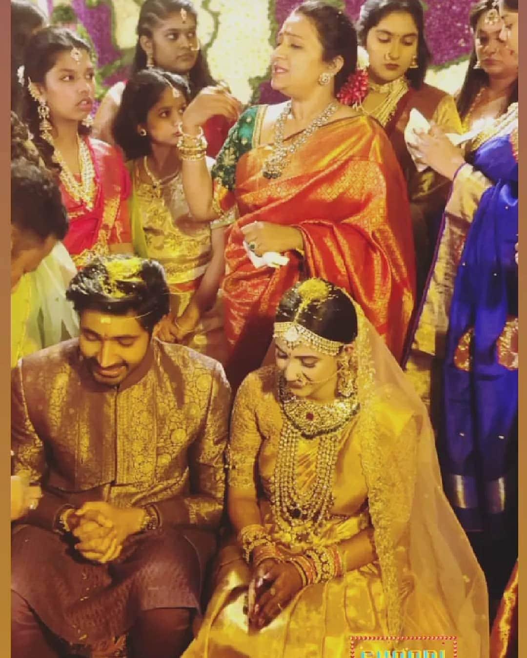Niharika Konidela Wedding Pics : నిహారిక కొణిదెల-చైతన్య జొన్నలగడ్డ పెళ్లి ఫోటోలు.. Photo : Instagram