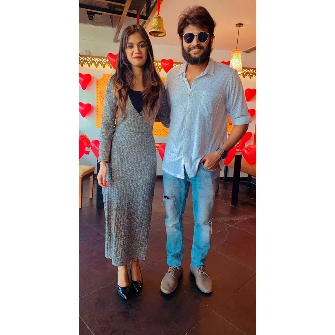 అరియానా బర్తే డే వేడుకల్లో కుమార్ సాయి (Instagram/Photo)