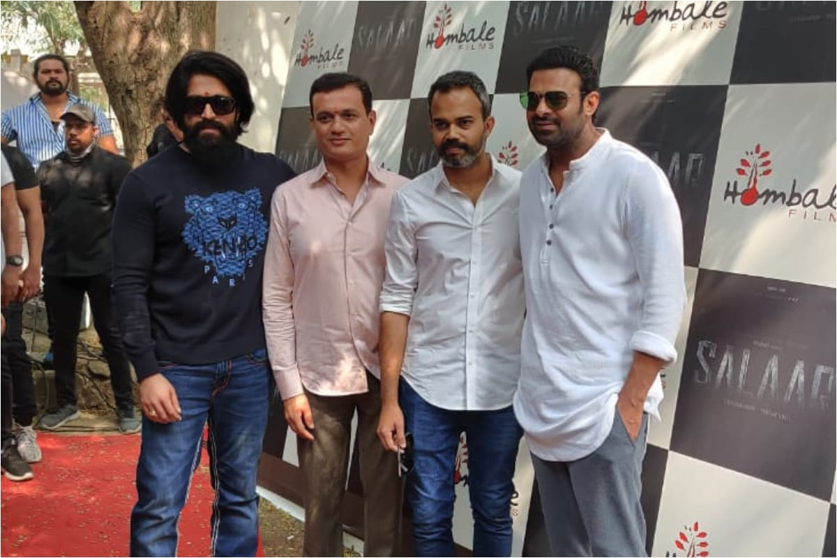 Prabhas Salaar movie Launched, Prabhas Prashanth Neel SALAAR movie,SALAAR movie, SALAAR,prabhas news, Prabhas to sign film with KGF director Prashanth Neel,sunny singh, Adipurush Update release date confirmed,Prabhas looks lord rama, nag ashwin,prabhas,prabhas nag ashwin movie,nag ashwin about prabhas next movie heroine is deepika padukone,prabhas new movie,nag ashwin about prabhas next movie heroine,prabhas upcoming film,prabhas movie,prabhas nag ashwin movie story,nag ashwin prabhas movie,prabhas next movie,prabhas movies,nag ashwin about prabhas movie name heroine and story,deepika padukone,nag ashwin vijay devarakonda,ప్రభాస్, దీపికా పదుకొనే, prashanth neel,ప్రశాంత్ నీల్
