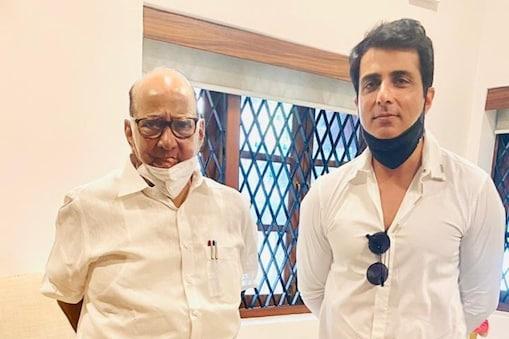Sonu Sood: శరద్ పవార్తో సోనూ సూద్ భేటీ.. రాజకీయాల్లోకి వస్తున్నాడా..?