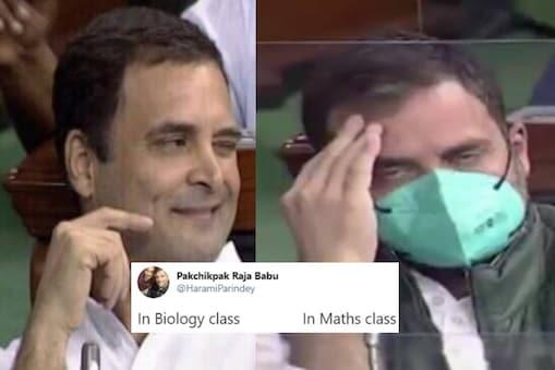 Rahul Gandhi: ఎందుకొచ్చాంరా బాబు అన్నట్టుగా ఉన్న రాహుల్గాంధీ.. వైరల్ అవుతున్న మీమ్స్