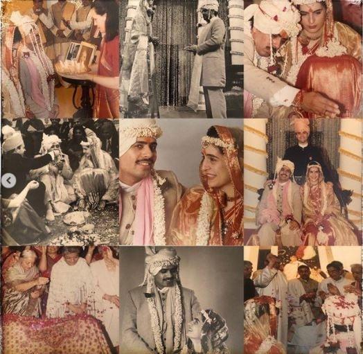 గత వివాహ వార్షికోత్సవం సందర్భంగా ప్రియాంక గాంధీ షేర్ చేసిన ఫోటో. (Image : Instagram)