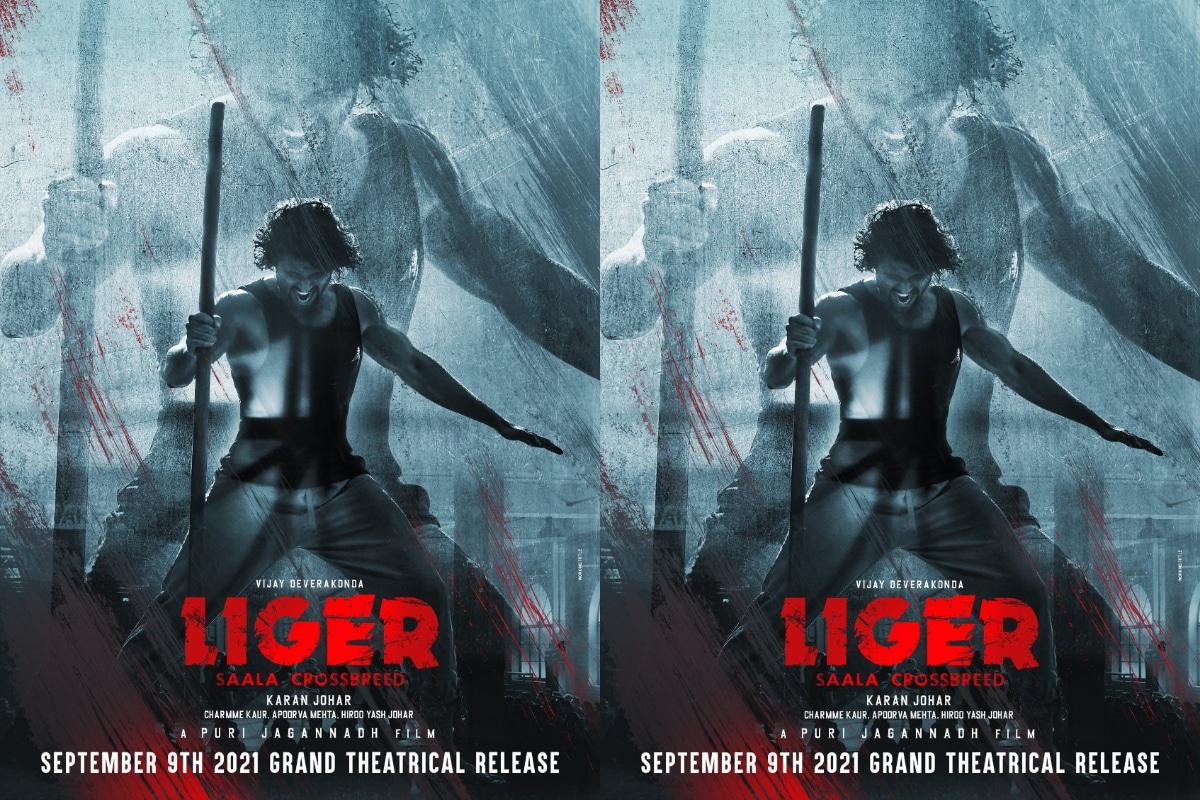Vijay Devarakonda Puri Jagannadh Movie Title Liger Release Date Announced,Vijay Devarakonda - Liger: విజయ్ దేవరకొండ, పూరీ జగన్నాథ్ 'లైగర్' విడుదల తేది ఖరారు..,Vijay Devarakonda as Liger,Vijay Devarakonda Liger Movie Release Date Announced,Vijay devarakonda Liger Release On September 9th,m Liger First Look Released,Vijay devarakonda,Liger,Liger Movie,vijay devarakonda news,vijay devarakonda latest films, puri jagannadh,vijay devarakonda fighter update,vijay devarakonda new movie, puri jagannadh movies,vijay devarakonda hindi film ,పూరి జగన్నాథ్, విజయ్ దేవరకొండ, విజయ్ దేవరకొండ న్యూస్,లైగర్గా విజయ్ దేవరకొండ,విజయ్ దేవరకొండ లైగర్,లైగర్ మూవీ,సెప్టెంబర్ 9న లైగర్ మూవీ విడుదల,సెప్టెంబర్ 9న విడుదల కానున్న విజయ్ దేవరకొండ పూరీ జగన్నాథ్ లైగర్ మూవీ