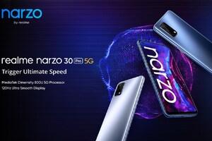 కాసేపట్లో Realme Narzo 30 Pro ఫస్ట్ సేల్... ఇండియాలో చీపెస్ట్ 5జీ స్మార్ట్ఫోన్ ఇదే