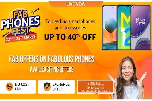 Amazon Fab Phones Fest: అమెజాన్లో ఫ్యాబ్ ఫోన్స్ ఫెస్ట్ ప్రారంభం... ఈ స్మార్ట్ఫోన్లపై 40 శాతం వరకు డిస్కౌంట్