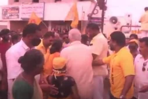 Ashok Gajapathi Raju slaps a woman: మున్సిపల్ ఎన్నికల ప్రచారంలో మహిళపై చేయి చేసుకున్న అశోక్ గజపతి రాజు