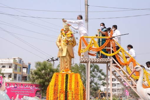 Babu jagjeevanram jayanthi... ఘనంగా బాబు జగ్జీవన్ రామ్ జయంతి వేడుకలు